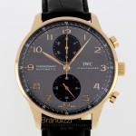 IWC Portoghese Ref 3714 Grey Dial