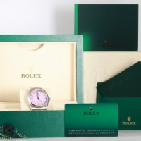 Rolex Oyster Perpetual Ref. 126000 - Stickers