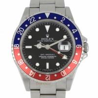 Rolex GMT II Ref. 16710BLRO Cal 3186 Stick Dial