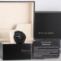 """Bulgari Carbongold """"Via Dei Condotti"""" Ref. BB 40 CL"""