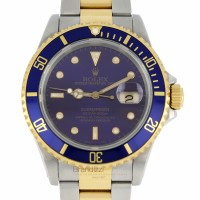 Rolex Submariner Ref. 16613 - Purple Dial Like New